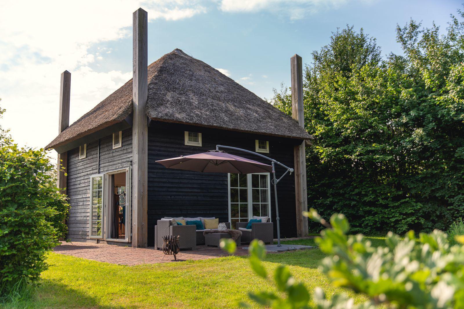 Reggehooiberg met sauna